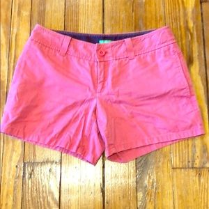 Pink Lilly Pulitzer shorts size 2